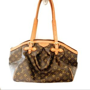 Louis Vuitton Tivoli Brown Leather Satchel